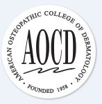 American Osteopathic Academy of Dermatology Logo